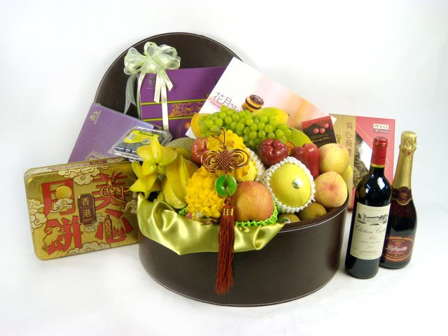 Wine n Food Hamper - Mid-Autumn Delux Set - P17669 Photo