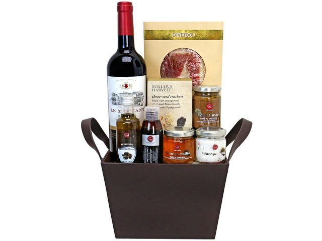 Wine n Food Hamper - Truffle set basket  - H20615A2 Photo