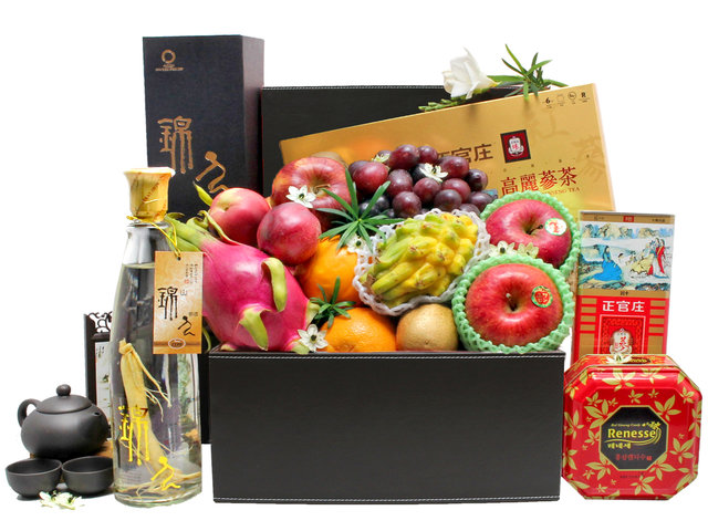 Wine n Food Hamper - Wellness hamper G12 - L36512249 Photo