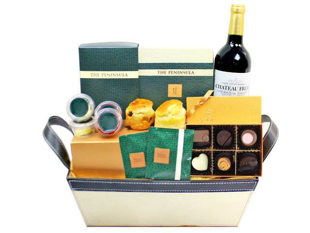 Wine n Food Hamper - Wine Food Gift Hamper C38 - L179826 Photo