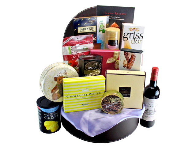 Wine n Food Hamper - Wine Food Gift Hamper C4 - L132339 Photo