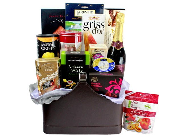 Wine n Food Hamper - Wine Food Gift Hamper C5 - L132451 Photo