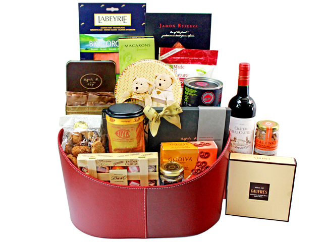 Wine n Food Hamper - Wine Food Gift Hamper D5 - L141819 Photo