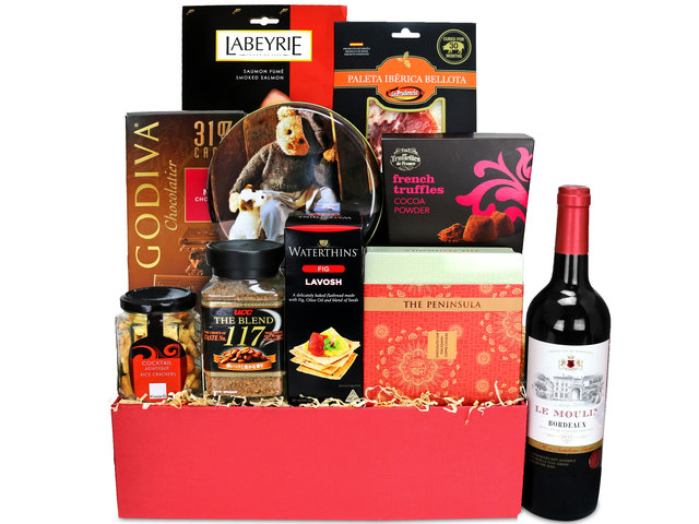Wine n Food Hamper - Wine Food Hamper C26 - L135878 Photo
