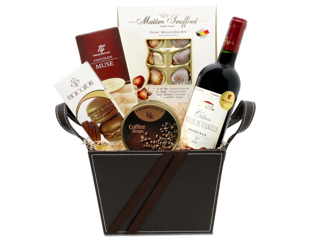 Wine n Food Hamper - Wine food hamper G2 - L76600153 Photo