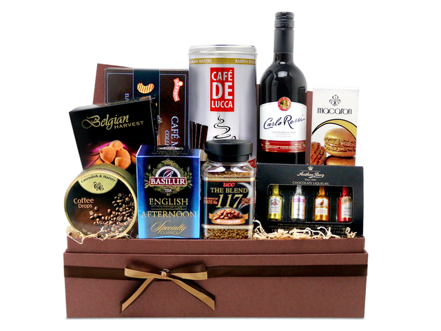 Wine n Food Hamper - Wine food hamper G7 - L76600318 Photo