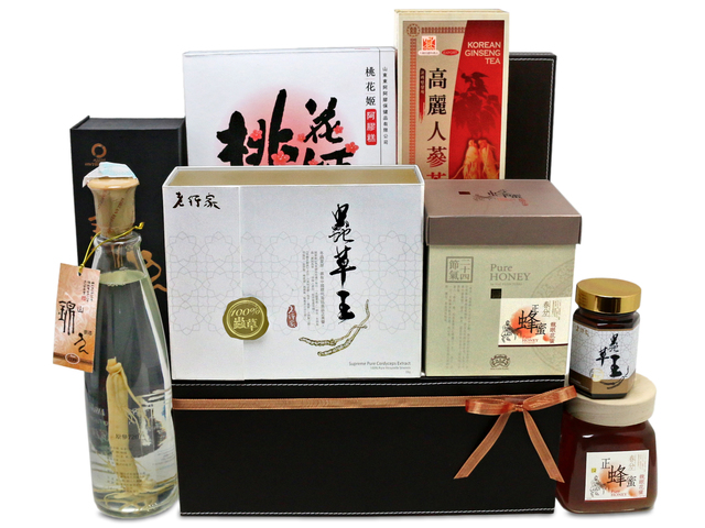 Wine n Food Hamper - recovery hamper G13 - L76602306 Photo