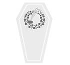 Coffin Flower - Round