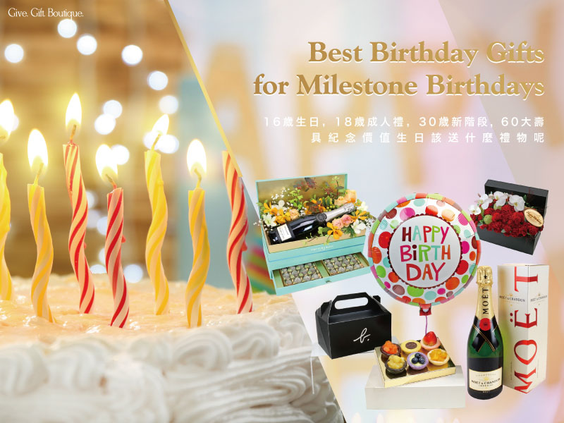 Best Birthday Gifts for Milestone Birthdays