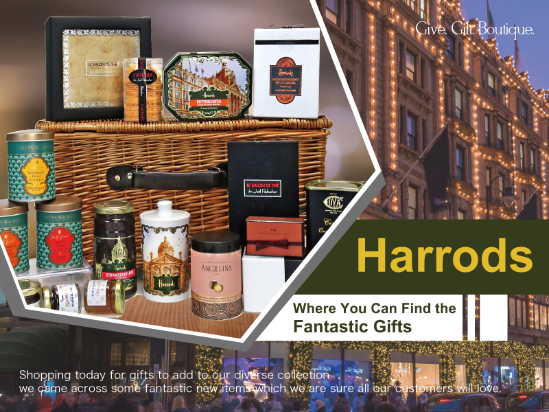 Harrods- Where You Can Find the Fantastic Gifts