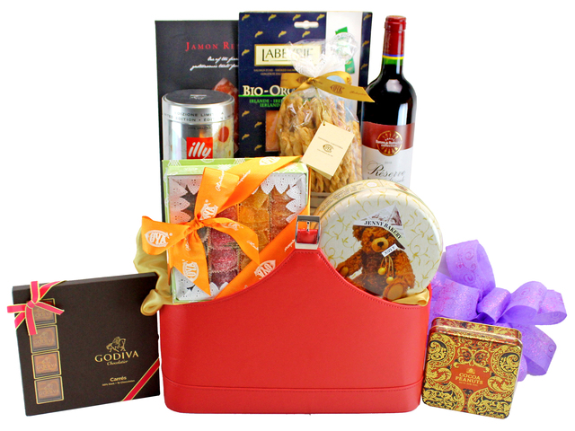 礼物篮Hamper - 美食礼篮 Hamper C3 - L132334 Photo
