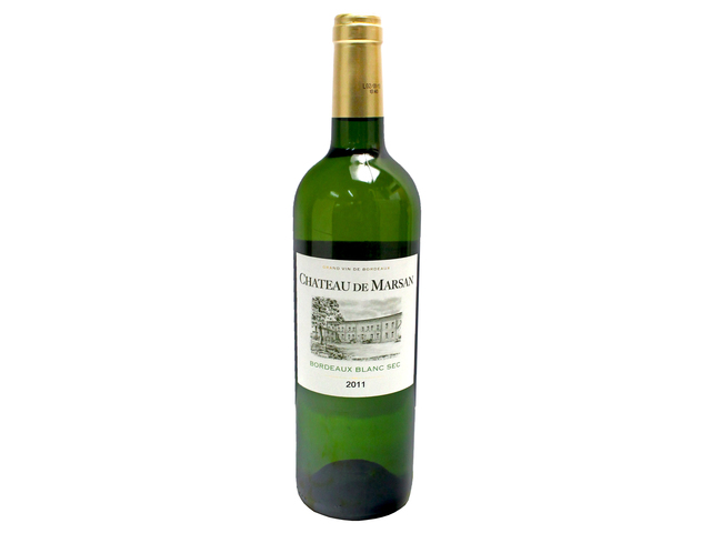 红酒香槟烈酒 - Chateau de Marsan Bordeaux Blanc - L134856 Photo