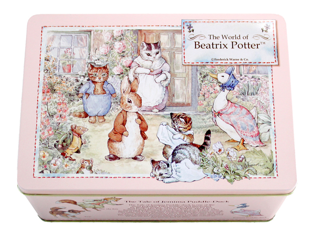 花店附加礼物 - The World of Beatrix Potter 芝麻口味蛋卷礼盒 - L805927 Photo