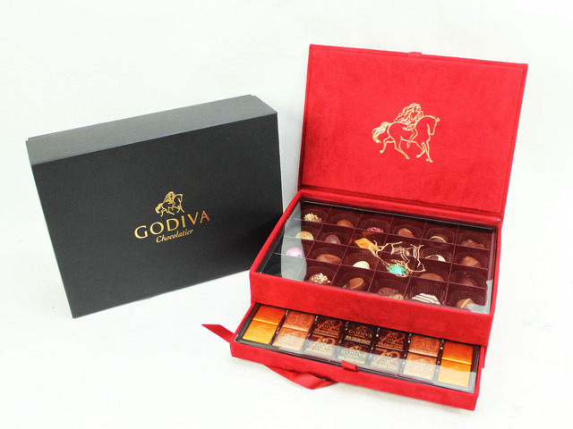 花店附加禮物 - Godiva Luxury Gift Box 30 pcs - L06806 Photo