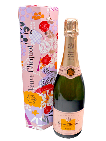 花店附加禮物 - Veuve Clicquot Rose NV Shakkei Collection - L3123362 Photo