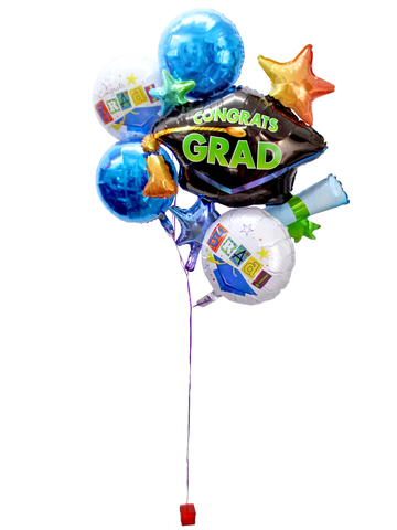Balloon Gift - Grad helium balloon X 5 (A) - L3120229 Photo