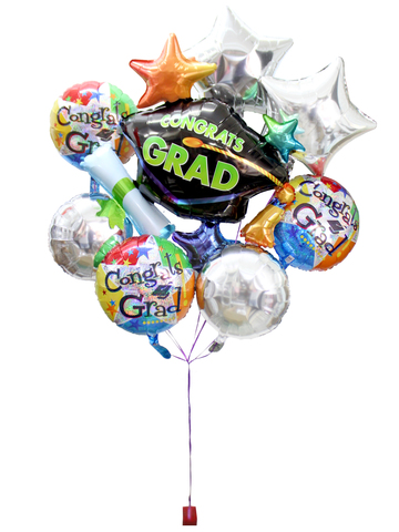 Balloon Gift - Grad helium balloon X 8 (C) - L3120224 Photo
