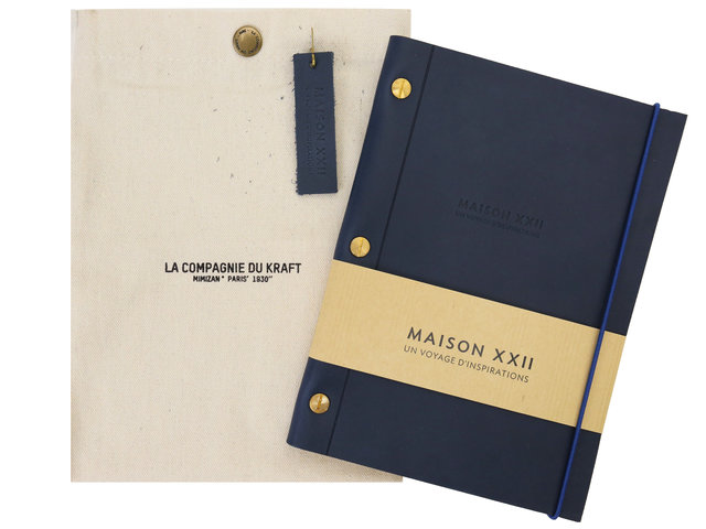 Birthday Present - MAISON XXII x LA COMPAGNIE DU KRAFT Notebooks - BA0813A1 Photo