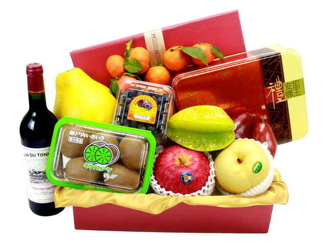 CNY Gift Hamper - CNY Gift Hamper 1 - L24359 Photo