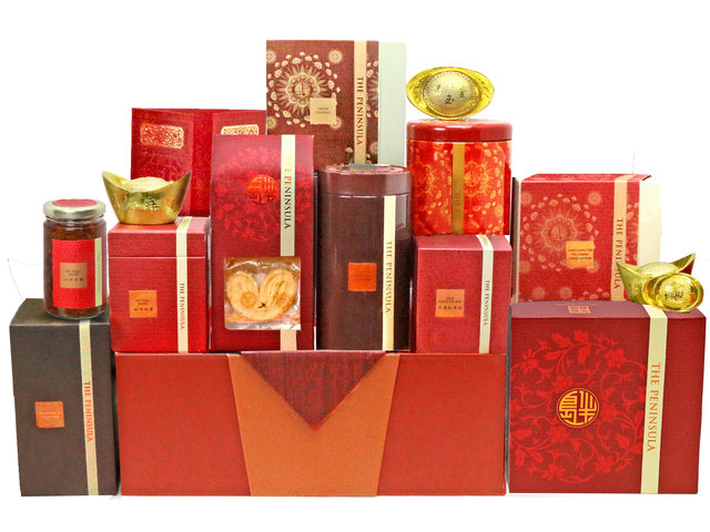 CNY Gift Hamper - CNY fruit basket M9 - L76604101 Photo