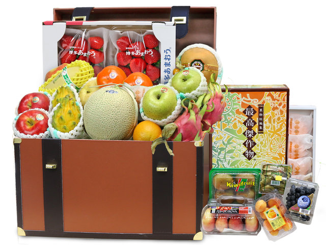 CNY Gift Hamper - CNY fruit basket Z5 - L76607873CNYZ Photo