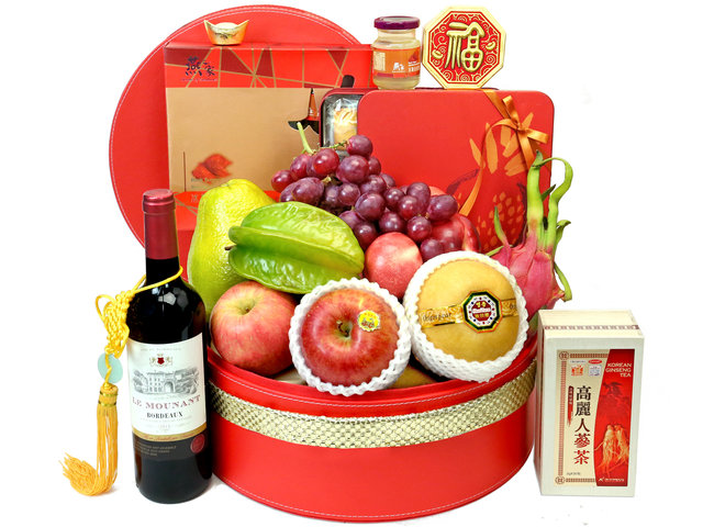 CNY Gift Hamper - Chinese New Year Gift Baskets Z6 - CH20104A1 Photo