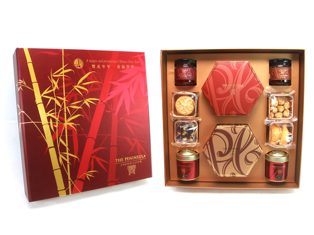 CNY Gift Hamper - Peninsula CNY Deluxe - L24489 Photo