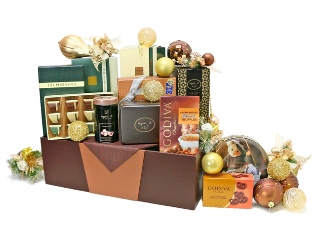 Christmas Gift Hamper - Christmas China Overseas mailable hamper Z5 - L76603321 Photo