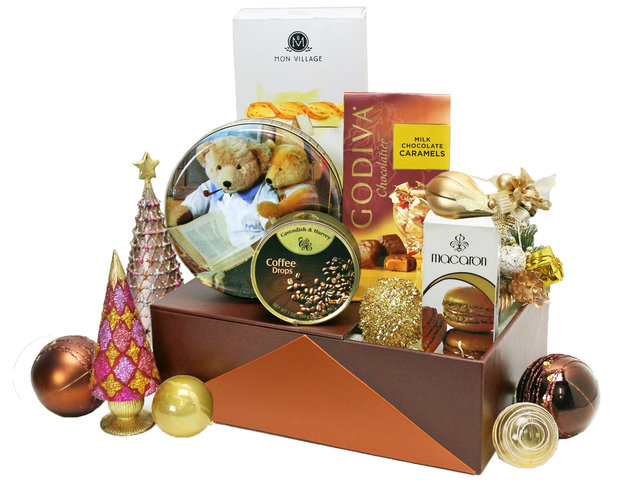 Christmas Gift Hamper - Christmas China Overseas mailable hamper Z7 - L76603425 Photo