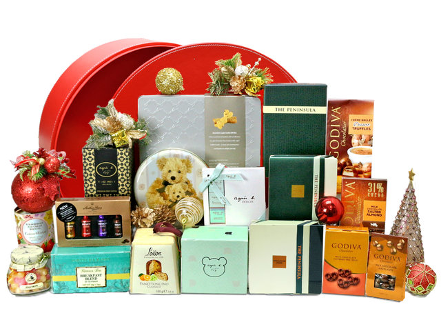 Christmas Gift Hamper - Christmas China Overseas mailable hamper Z9 - L76603895 Photo
