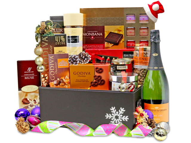Christmas Gift Hamper - Christmas Gift Hamper 1 - L76600459b Photo