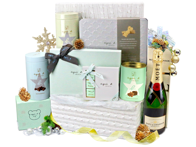 Christmas Gift Hamper - Christmas Gift Hamper 2 - L76601455b Photo