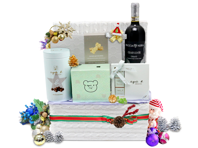 Christmas Gift Hamper - Christmas Gift Hamper 3 - L76601496b Photo