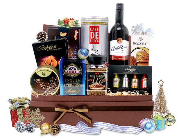 Christmas Gift Hamper - Christmas Gift Hamper 4 - L76600318b Photo