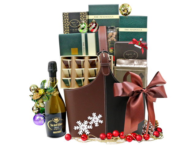 Christmas Gift Hamper - Christmas Gift Hamper 6 - L76600647b Photo