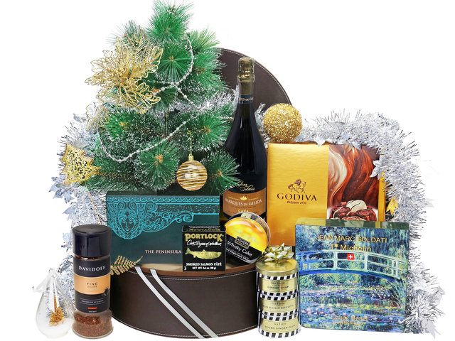 Christmas Gift Hamper - Christmas Hamper v6 - XH1109A4 Photo