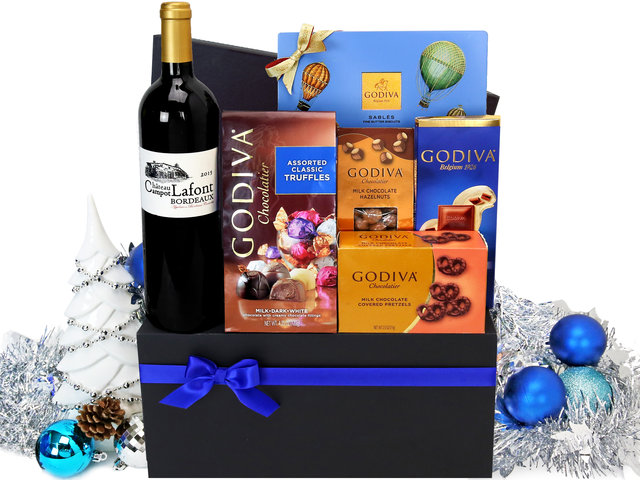 Christmas Gift Hamper - Godiva Christmas hamper M3 - L76604021 Photo