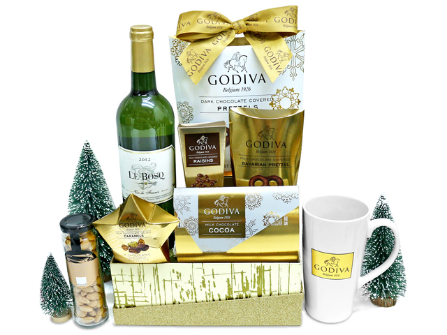Christmas Gift Hamper - Godiva Christmas special gift hamper - L36669776 Photo