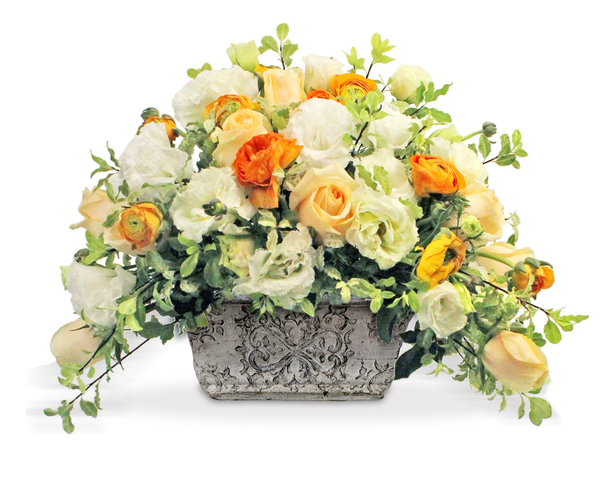 Florist Flower Arrangement - Classical Florist Vase CL02 - L36514132b Photo