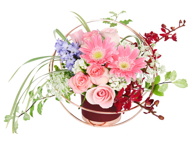Florist Flower Arrangement - Florist Decor RX01 - DR0724A3 Photo