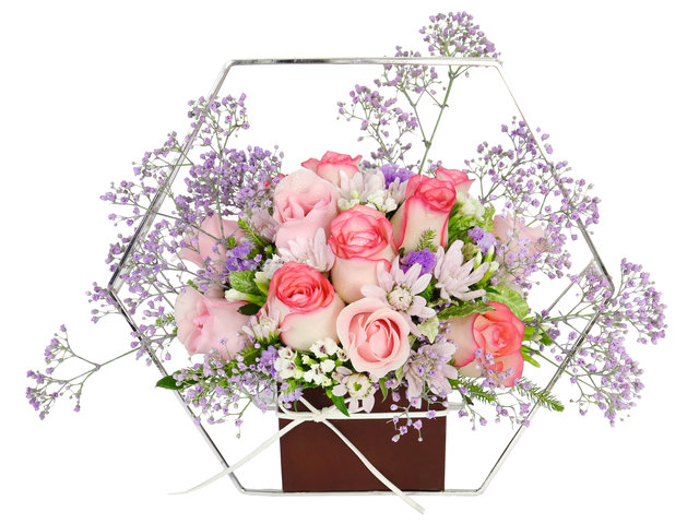Florist Flower Arrangement - Florist Decor RX02 - DR1016A4 Photo