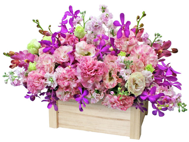 Florist Flower Arrangement - Florist Gift Vase Decor L10 - L36514242 Photo