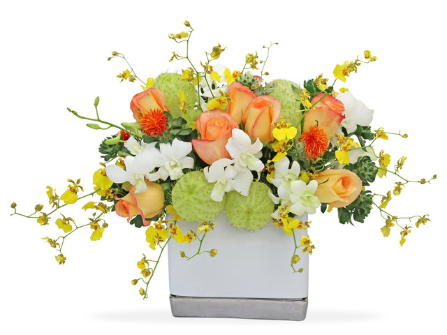Florist Flower Arrangement - Florist gift arrangement BG26 - L4264 Photo