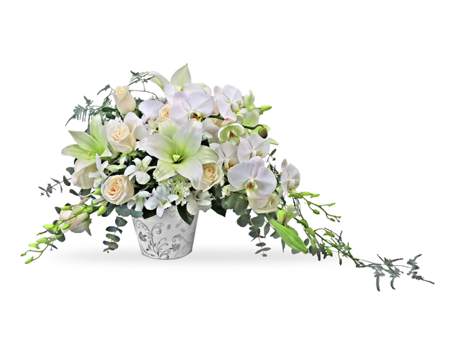Florist Flower Arrangement - Florist vase Decor P1 - L36668392 Photo