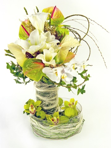 Florist Flower Arrangement - Home Sweet Home - P3281 Photo