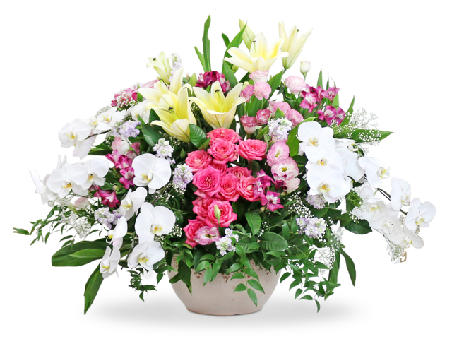Florist Flower Arrangement - Opening florist Basket MK23 - L76602469 Photo