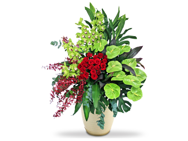 Florist Flower Arrangement - Opening florist Basket MK26 - L76602683 Photo
