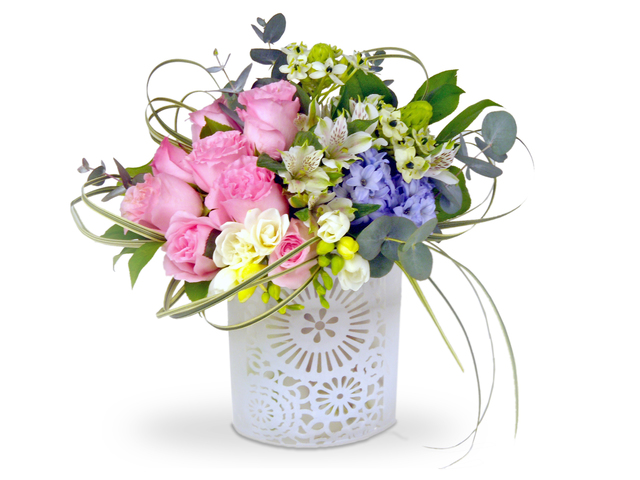 Florist Flower Arrangement - Orchard Delight - P8117 Photo