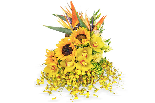 Florist Flower Arrangement - Sunshine - P0747 Photo