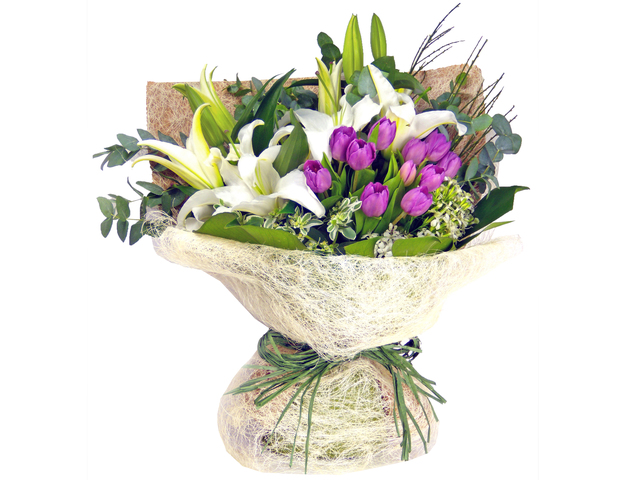 Florist Flower Bouquet - Athena Bouquet - P0546 Photo